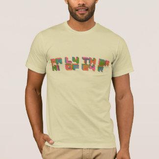T-shirt Famille du logo d'année