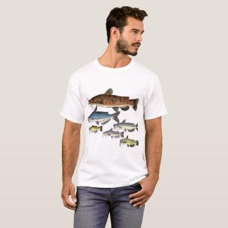 T-shirt Famille nord-américaine de poisson-chat
