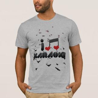 T-shirt Fan de karaoke