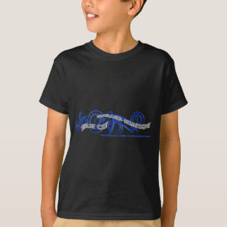 T-shirt Fan of Roller Coasters Bleu RJC02WS.png