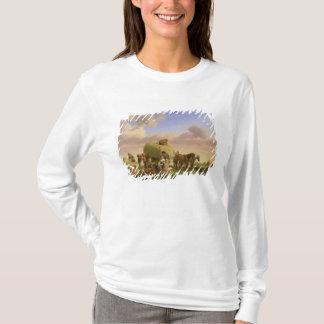 T-shirt Faneurs se reposant dans un domaine
