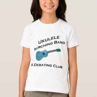 T-shirt Fanfare d'ukulélé et club de discussion