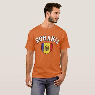 T-shirt Fans de foot du football de la Roumanie