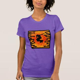 T-shirt Fans de rouleau