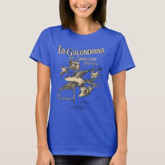 T-shirt Fantaisie d'hirondelle de Golondrina de La -