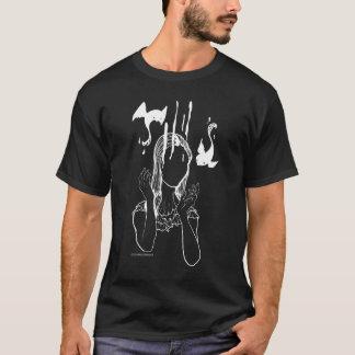 T-shirt Fantôme déplaisant d'ange de poupée de chemise de