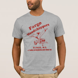 T-shirt Fargo WoodChippers