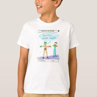 T-shirt Farnker veulent le cerveau ! ! !