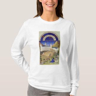 T-shirt Fascimile de juillet : Moisson et moutons