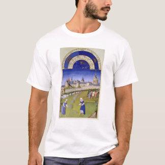 T-shirt Fascimile de juin : Fenaison