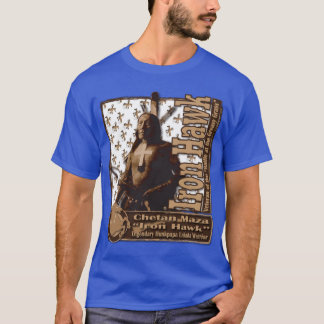 T-shirt Faucon Hunkpapa Lakota de fer