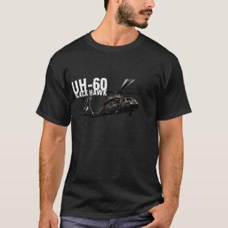 T-shirt Faucon noir