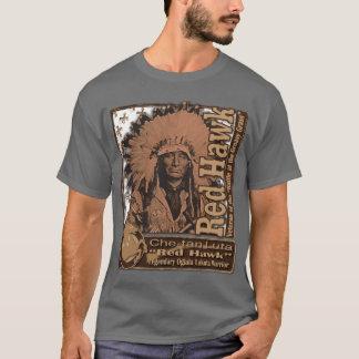 T-shirt Faucon rouge Oglala Lakota
