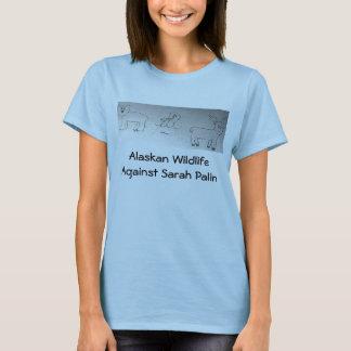T-shirt Faune d'Alaska contre Sarah Palin