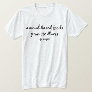 T-shirt Favorisez la vitalité - vont le végétalien