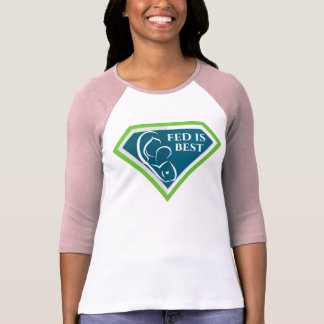 T-shirt Fed original est la meilleure chemise de raglan de