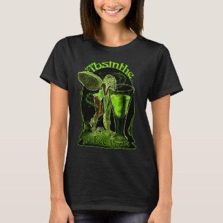 T-shirt Fée de Verte d'honoraires de La d'absinthe avec le