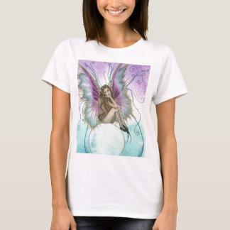 T-shirt fée sur la boule de cristal