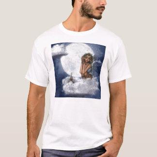 T-shirt Fée sur un nuage