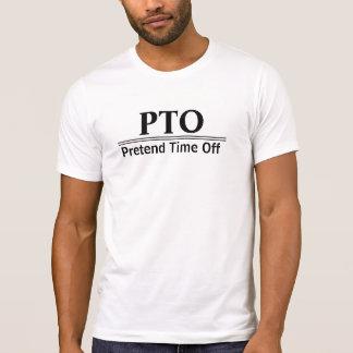 T-shirt Félicitations favorisées pour feindre le repos