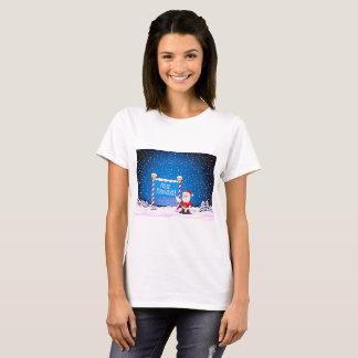 T-shirt Feliz Navidad Père Noël