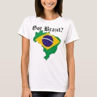 T-shirt femelle du Brésil (passé le Brésil)