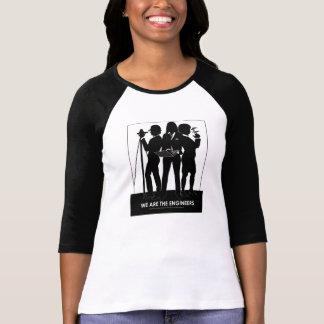 T-shirt (Femelle) nous sommes la pièce en t de base-ball