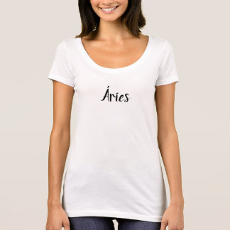 T-shirt féminin avec décollette - Bélier