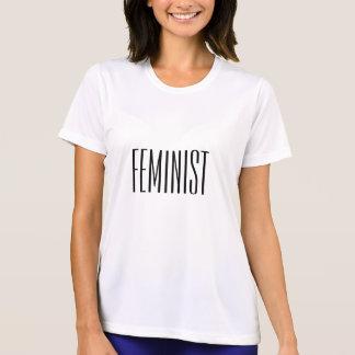 T-shirt Feminist - Blanc