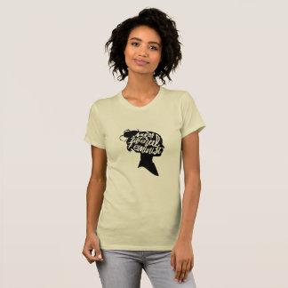 T-shirt Féministe libéral fâché