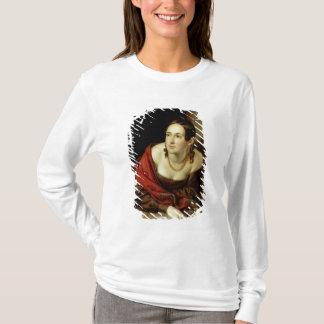 T-shirt Femme à sa fenêtre ou, l'épouse d'a