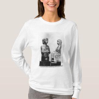 T-shirt Femme avec le châle