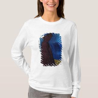 T-shirt Femme avec une cage à oiseaux