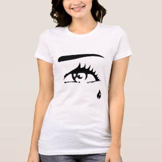 T-shirt Femme, Blanc - Oeil
