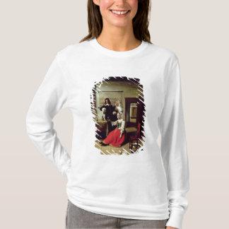 T-shirt Femme buvant avec des soldats, 1658
