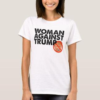 T-shirt Femme contre l'atout - anti chemise de message