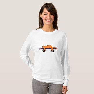 T-shirt Femme de FahtCaht Longsleeve de planche à