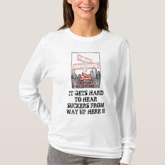 T-shirt FEMME de FURYSTREET ' S avec la CHEMISE de CAPOT