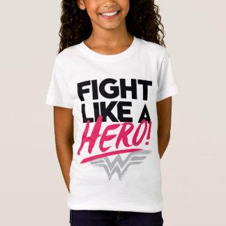 T-Shirt Femme de merveille - combat comme un héros