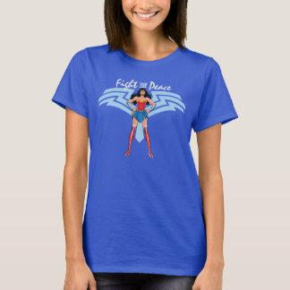 T-shirt Femme de merveille - combat pour la paix