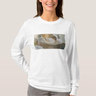 T-shirt Femme d'Edgar Degas | à son Bath, épongeant sa
