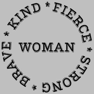 Femme Courageuse Et Forte