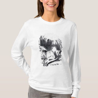 T-shirt Femme malade dans un lit, peut-être Saskia
