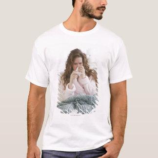 T-shirt Femme malade sur le divan