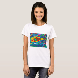 T-shirt femme Nick Bresco Abstract digital Art
