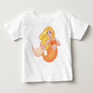 t-shirt femme poisson, sirène