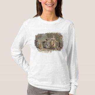 T-shirt Femme tournant, du 'costume de Yorkshire