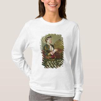 T-shirt Femme turque avec un tambour de basque