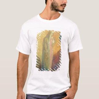 T-shirt Femme voilée debout