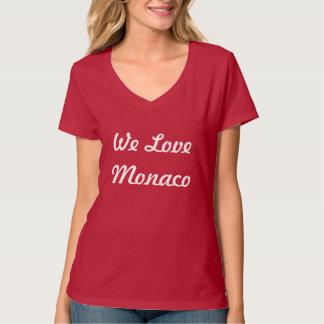 T-Shirt Femme We Love Monaco